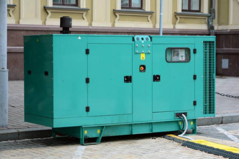 Geradores de Energia Elétrica Bom Retiro - Geradores a Diesel