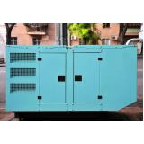 aluguel de geradores a diesel